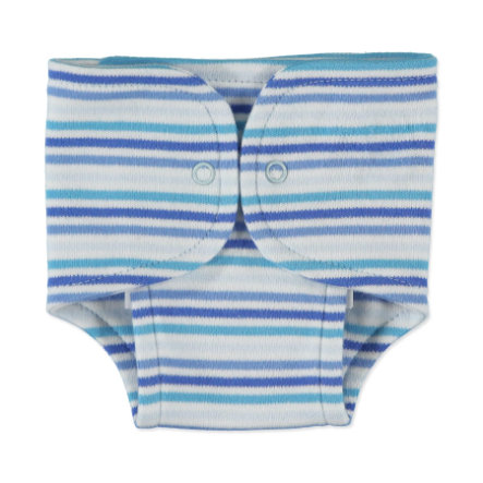 FIXONI Boys Preemie Cotton Nappy, stripes blue