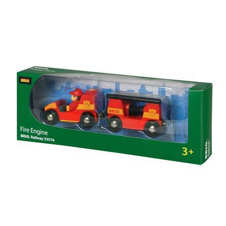 BRIO Camion Pompieri Luci e Suoni 33576