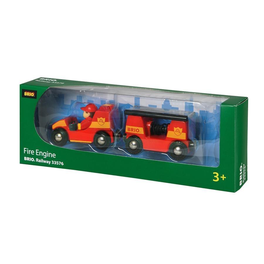 BRIO Véhicule de pompier son et lumière