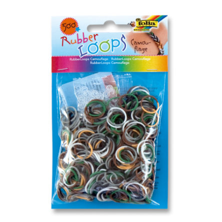 FOLIA Rubber Loops® - Camouflage