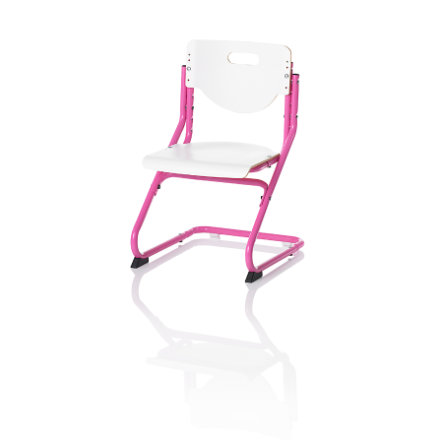 KETTLER Sedia CHAIR PLUS, Bianco/rosa