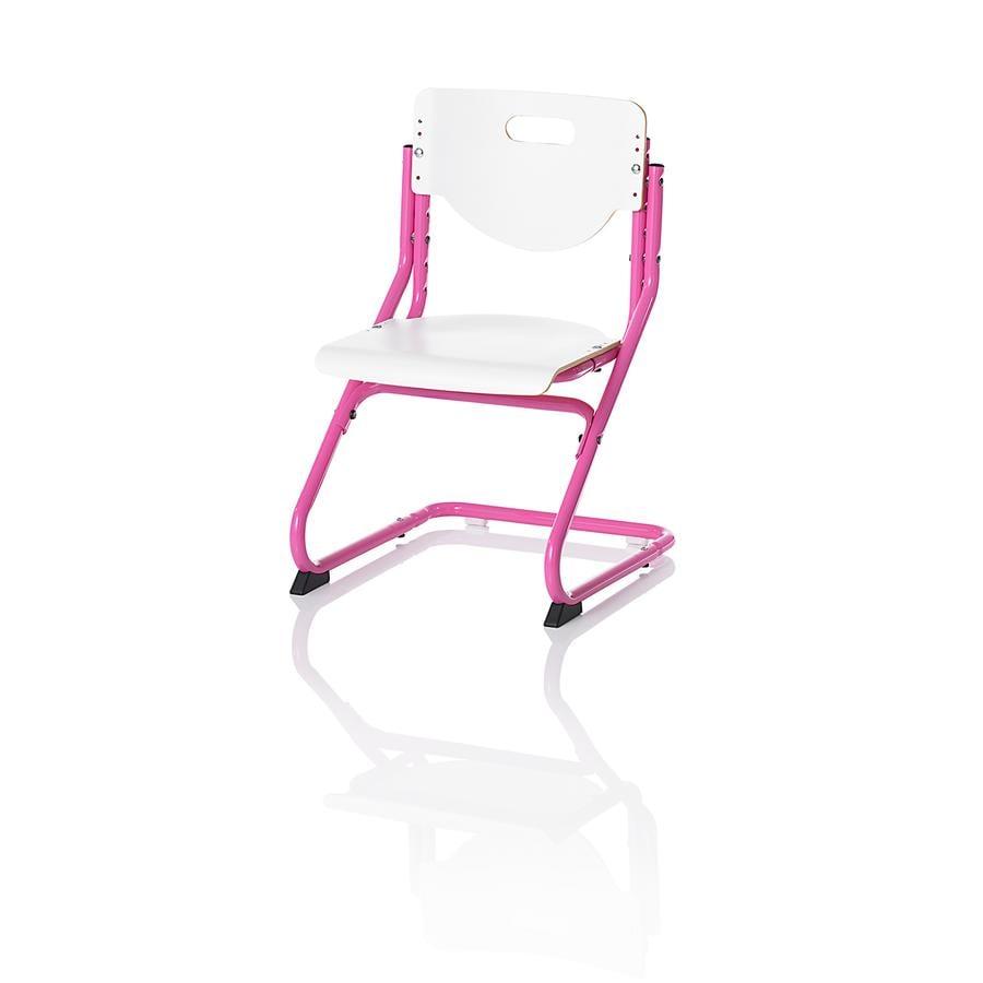 KETTLER Chaise CHAIR PLUS, Blanc/Rose 6725-690