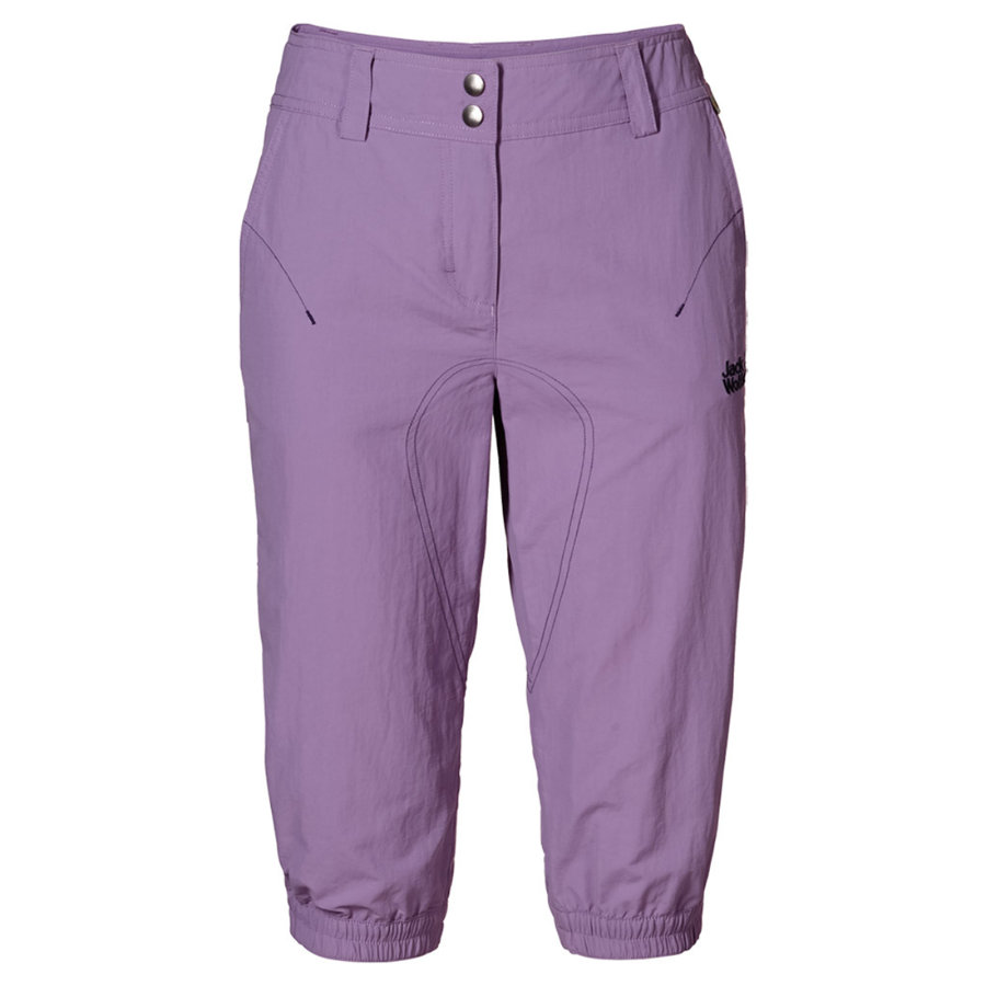 Jack Wolfskin Girls 3/4 Hose SUNFLOWER wisteria