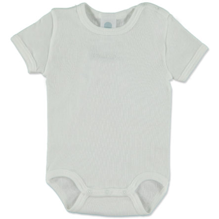 SANETTA Baby body, kortærmet, hvid