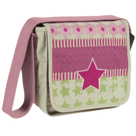 LÄSSIG Mini Messenger Bag Design Starlight Magenta
