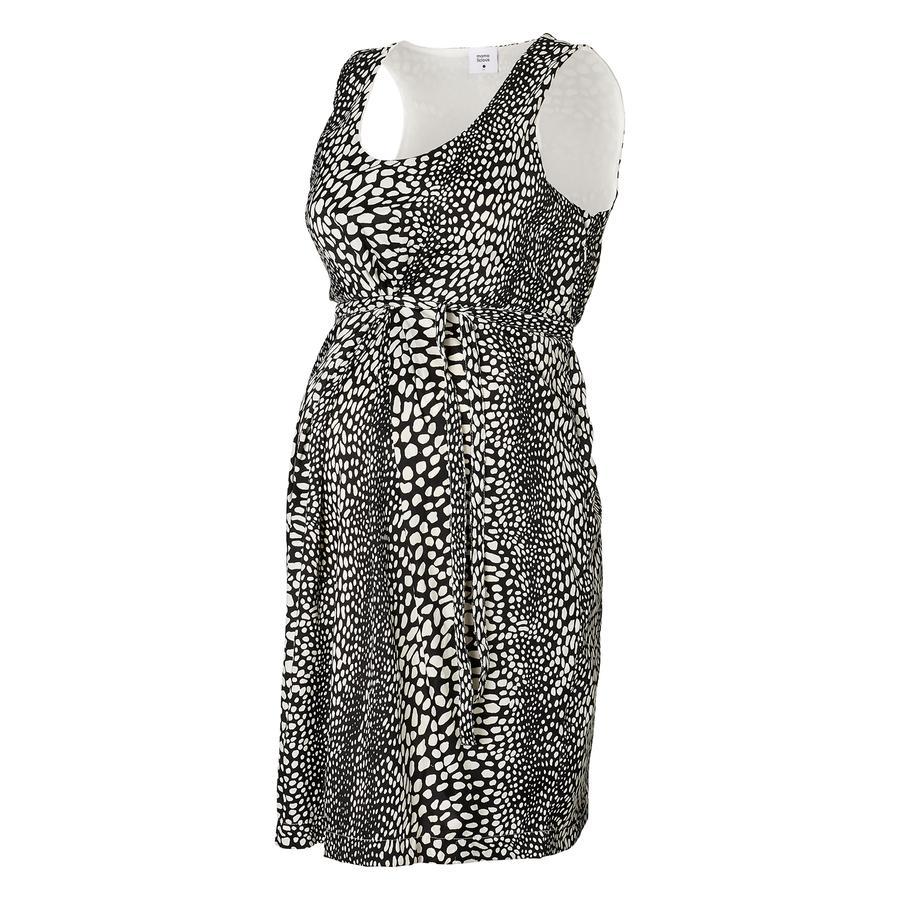 MAMA LICIOUS Těhotenské šaty, HIT DOT bílo/černé