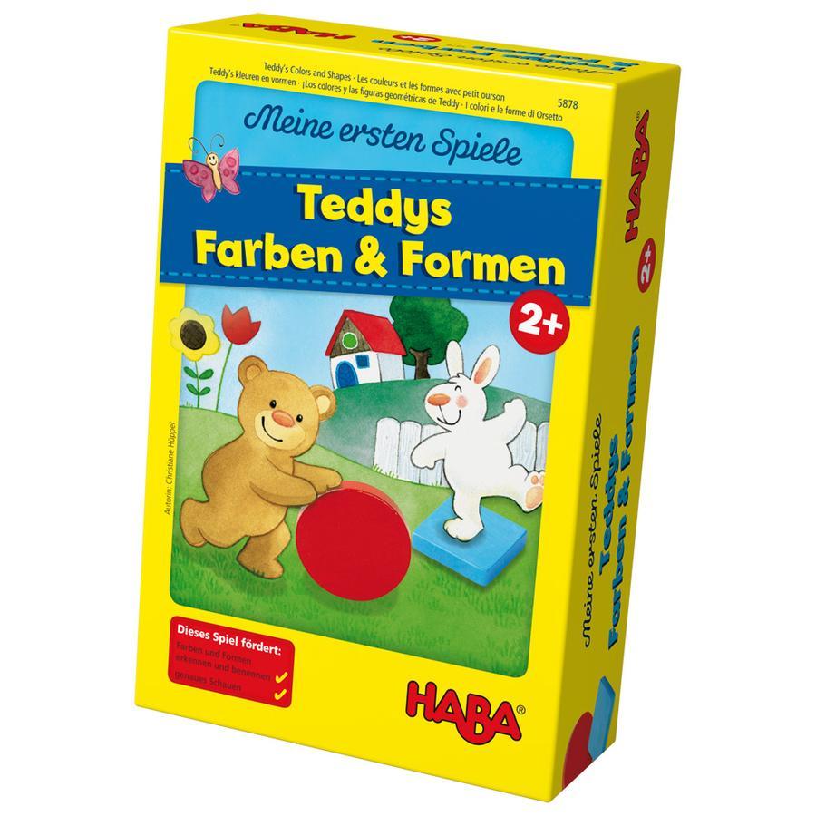 HABA Mis primeros juegos - Los colores y las figuras geométricas de Teddy 5878