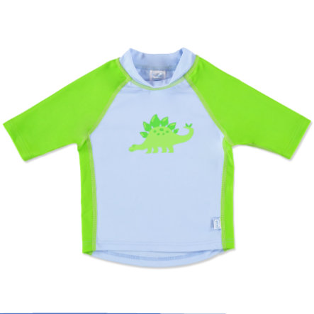 i play.® Rashguard Sleeve Boys LIGHT BLUE STEGOSAURUS