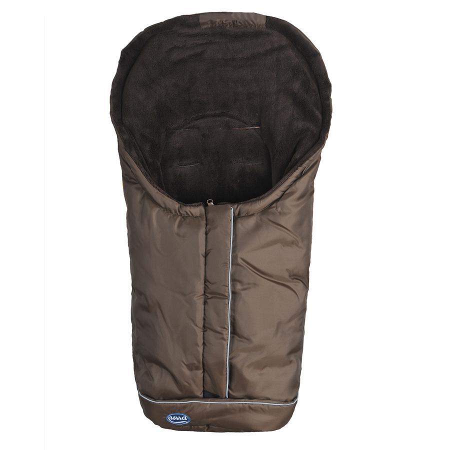 URRA Coprigambe a sacco invernale Romer Standard piccolo, mocca/marrone