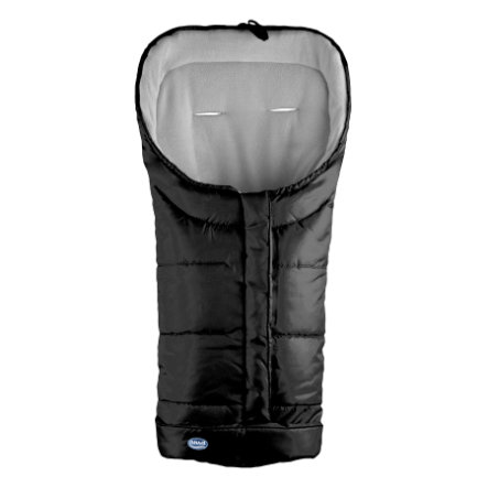 URRA Coprigambe a sacco invernale Romer Standard, nero/grigio