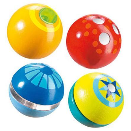 HABA Boules Découverte, Lot de 4 boules