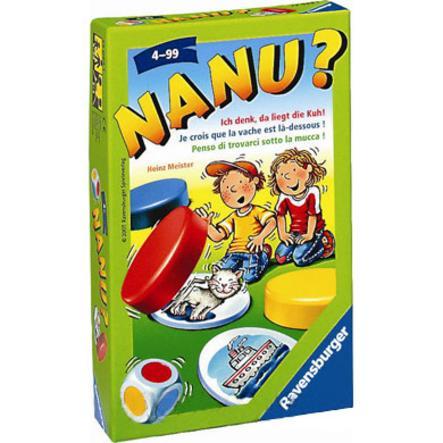 RAVENSBURGER Gioco tascabile Nanu!