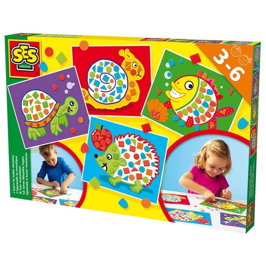 SES Creative® Ich lerne Mosaike legen
