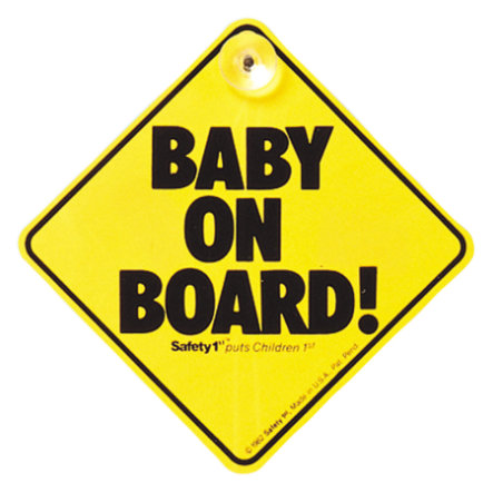 "Safety 1st ""Baby On Board"" - Skylt"