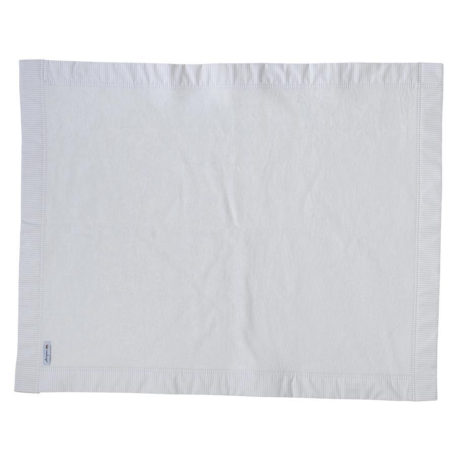 TICAA Couverture doudou en coton, beige