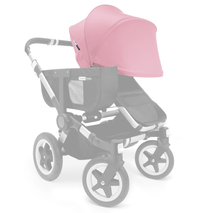 bugaboo Donkey Extendable Sun Canopy Soft Pink