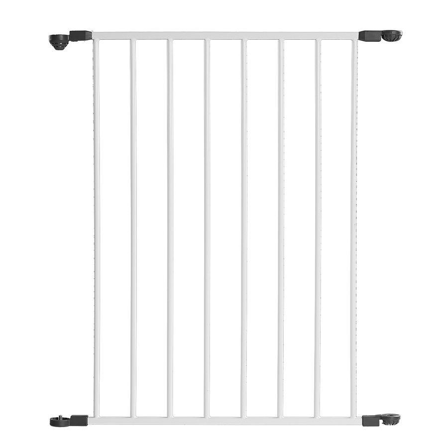 Reer Säkerhetsgrind MyGate förlängning 60 cm vit/grå