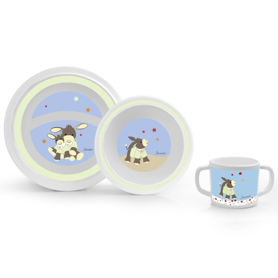 STERNTALER Children's Tableware Set - Donkey Emmi