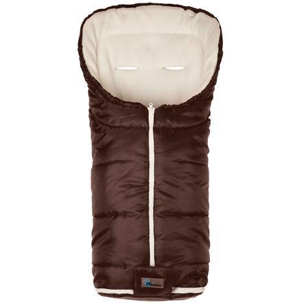 ALTA bébe zimní fusak Basic Footmuff (2202) Brown-White