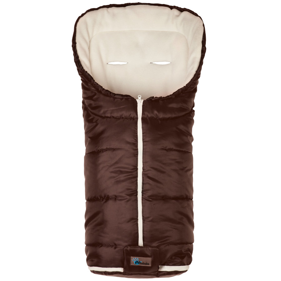Altabebe Winterfußsack Active braun-whitewash