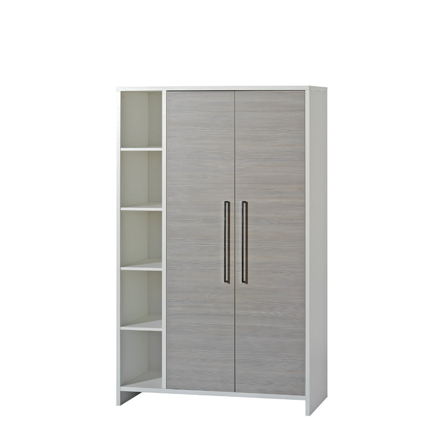 SCHARDT Eco Silber Armoire 2 portes
