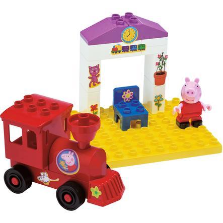 BIG stavebnice Peppa Pig - nádraží