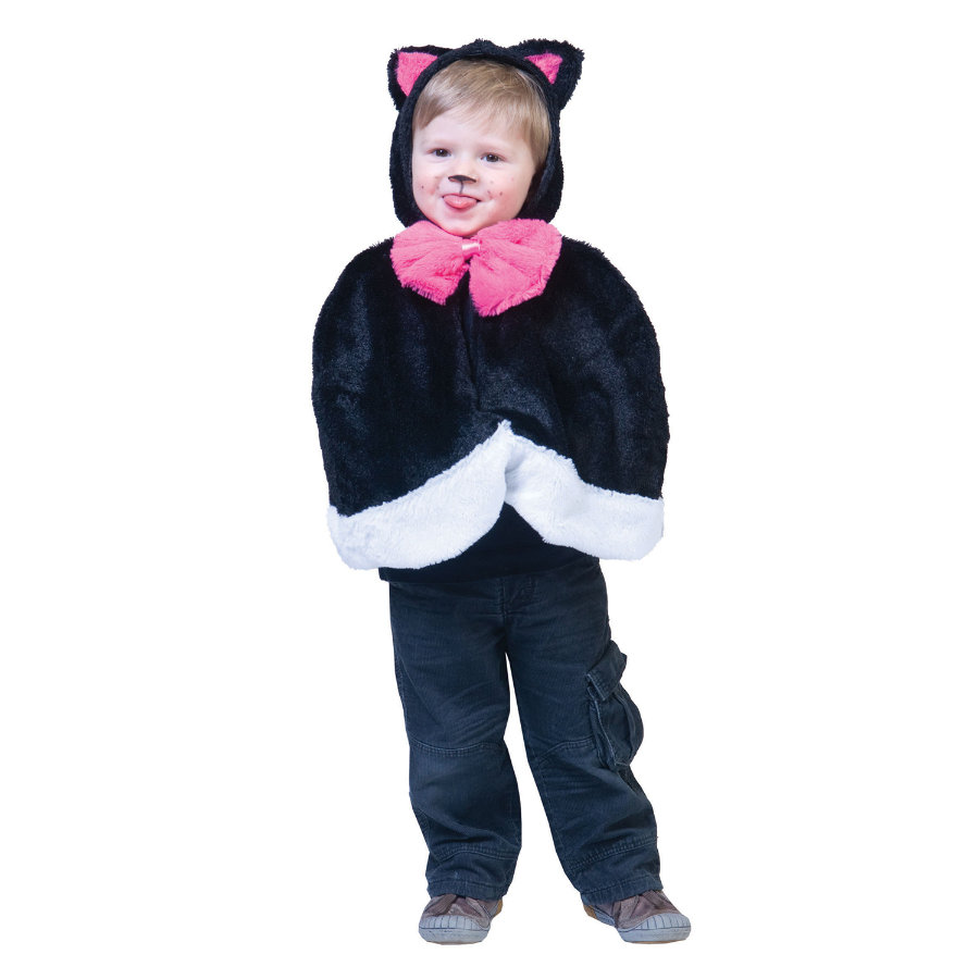 FUNNY FASHION Costume Cape Kitty