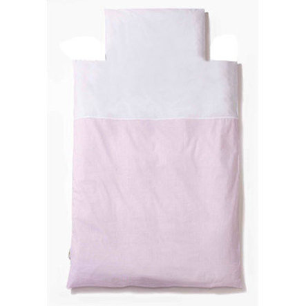Easy Baby Beddengoed 100 x 135 cm Vichy roze (410-51)
