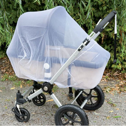 ALVI MOSQUITO / GNAT NET FOR STROLLERS WHITE