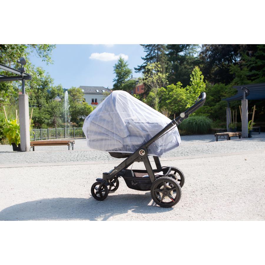 Vitt myggnät för barnvagnar (94401)