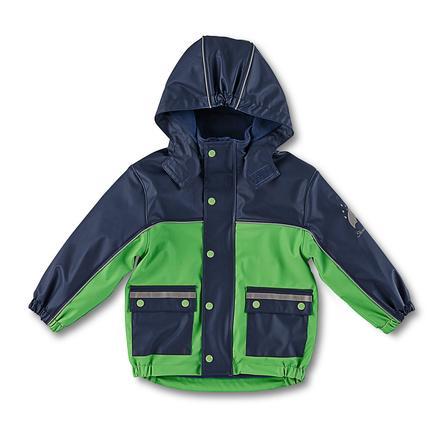 STERNTALER Nepromokavá bunda modro-zelená