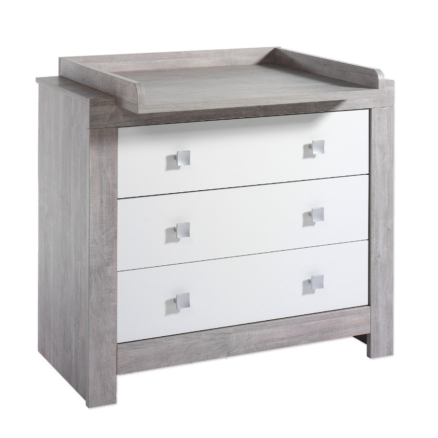 schardt commode langer avec table nordic driftwood blanc gris. Black Bedroom Furniture Sets. Home Design Ideas