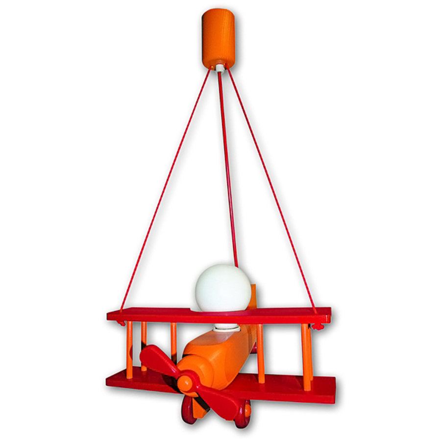 WALDI Suspension Avion, orange/rouge 1 ampoule