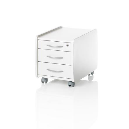 KETTLER Rollcontainer LOGO TRIO BOX, weiß
