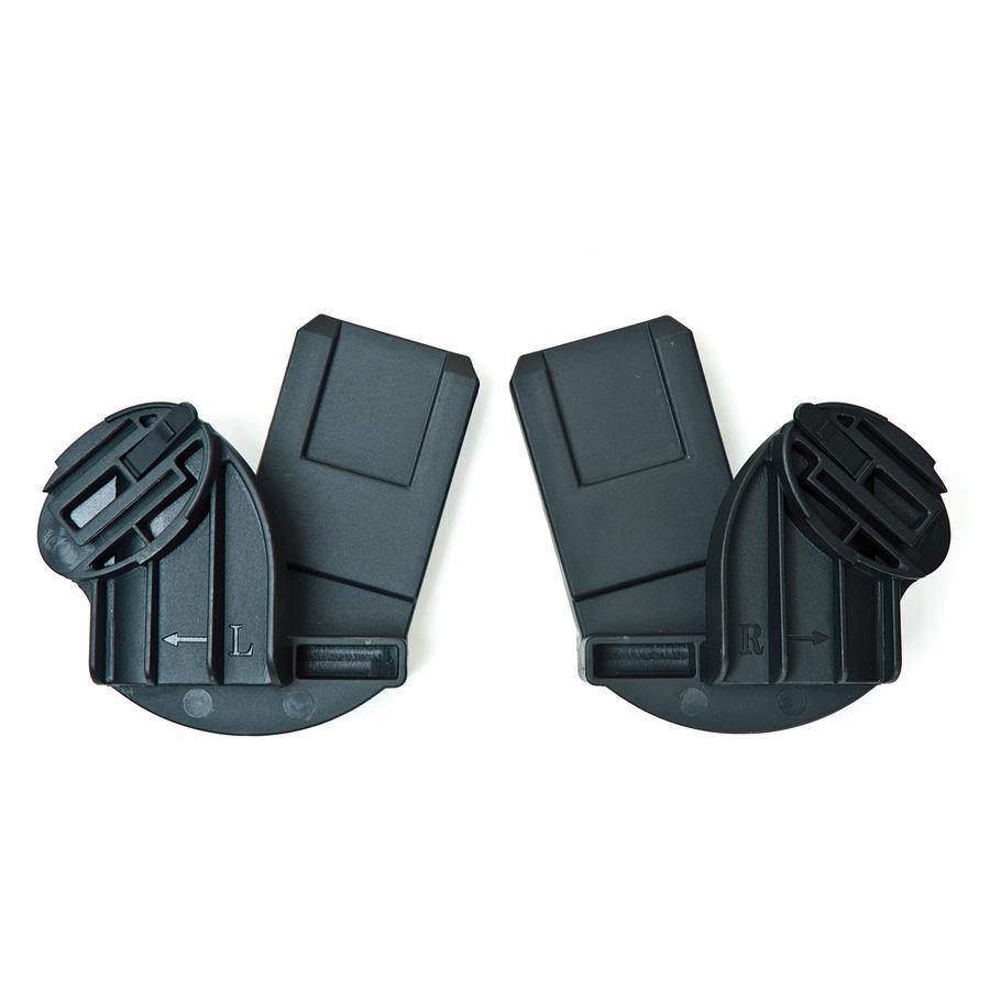 TFK Adattatore per Maxi Cosi (Bebe Confort), Cybex Aton, BeSafe iZi Go per Passeggino Buggster S e Buggster S Air