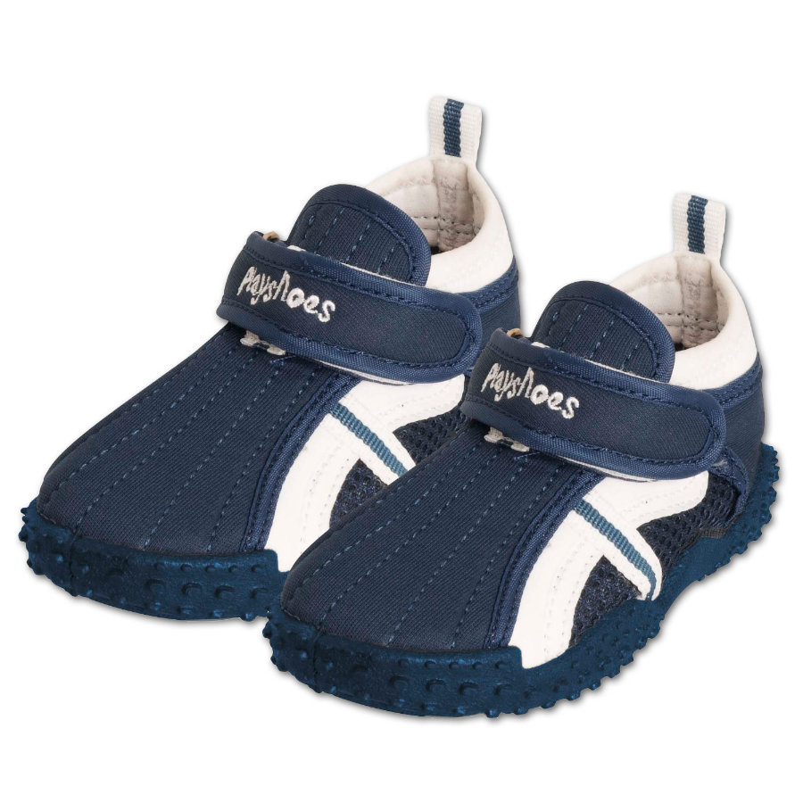 Playshoes Boys UV-Schutz Aqua Schuhe Sportiv marine