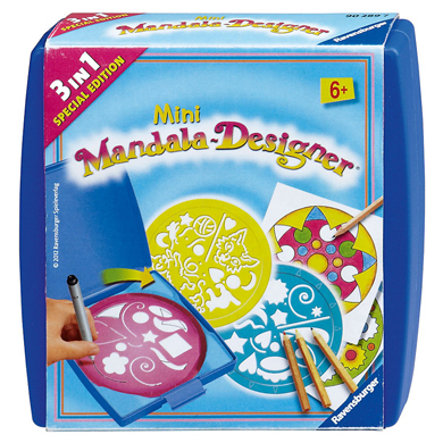 RAVENSBURGER Mini Mandala Designer - 3in1