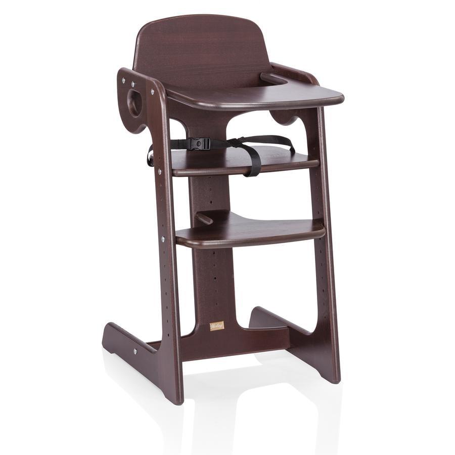 HERLAG Chaise-haute Tipp Topp IV, hêtre, marron