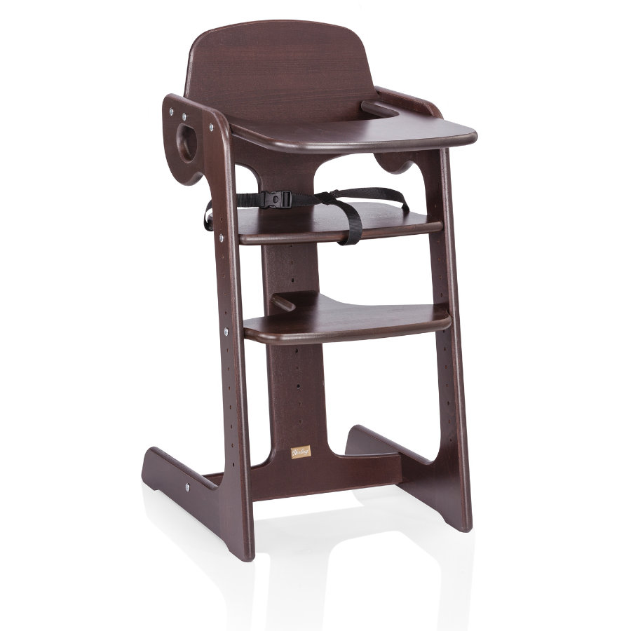 HERLAG High Chair Tipp Topp IV Beech brown