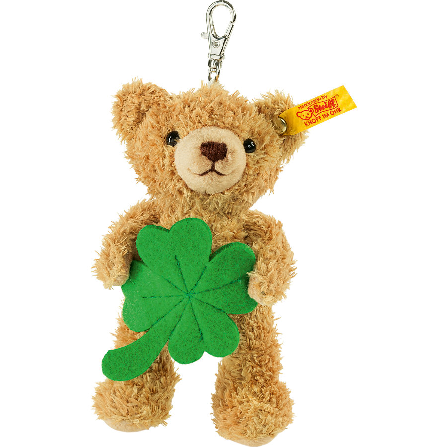Steiff Schlüsselanhänger - Glücksbringer Teddybär 12cm