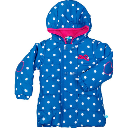 lief! Girls Baby Outdoorjacke strong blue