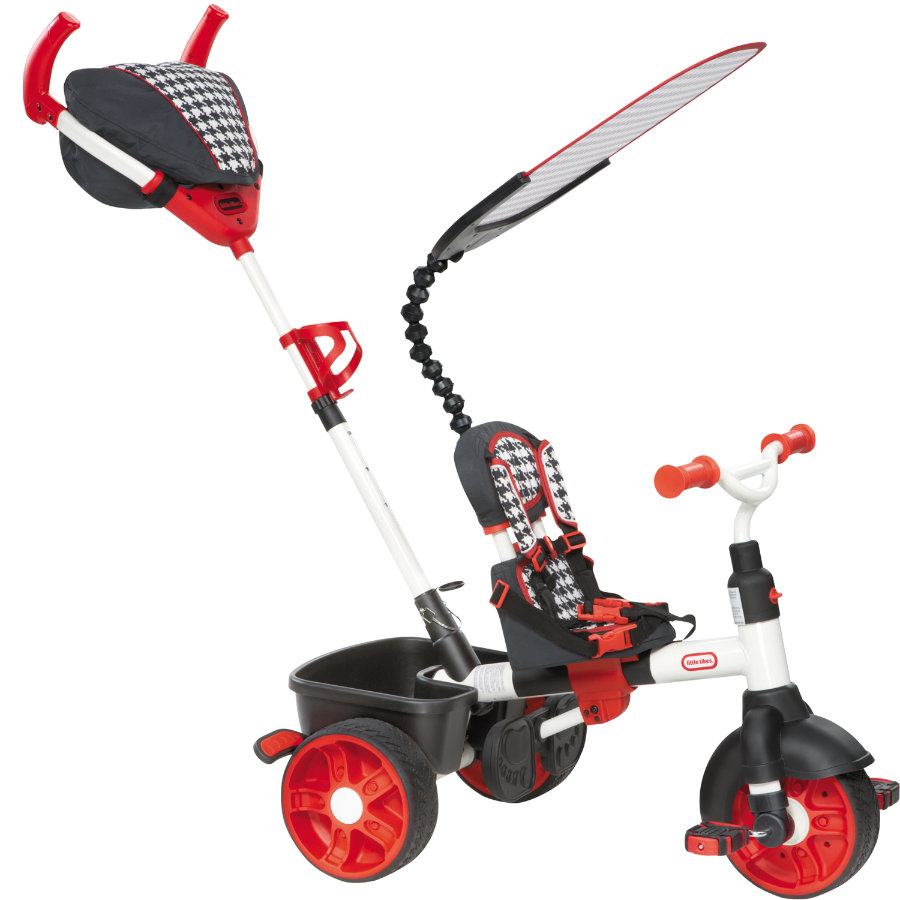 LITTLE TIKES 4-in-1 Trike Sports Edition Rood/wit