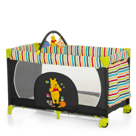 HAUCK Travel Cot Dream 'n Play GO Disney Pooh Tidy Time 2014 collection