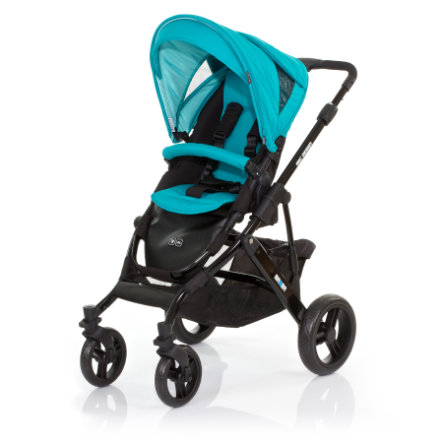 ABC DESIGN Combi Stroller Mamba coral Frame black / black Collection 2015