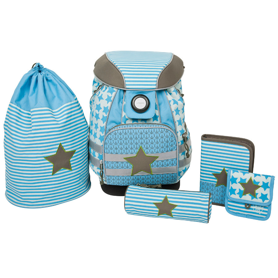 LÄSSIG School Set Starlight, olive