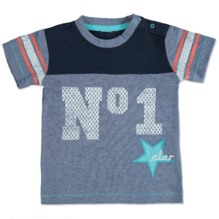 MAX COLLECTION Baby T-Shirt STAR blau