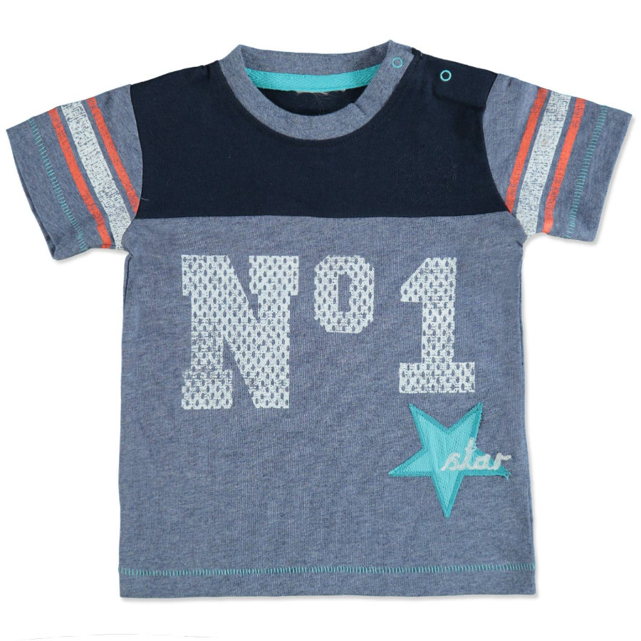 MAX COLLECTION Baby T-Shirt STAR blå