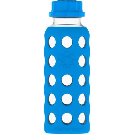 LIFEFACTORY Glas Trinkflasche ocean 250 ml
