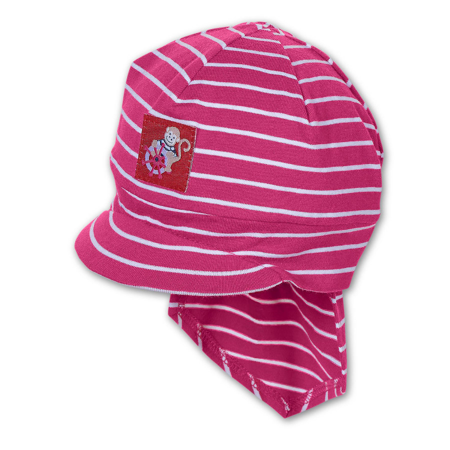 STERNTALER Girls Mini Piratentuch mit Schirm magenta