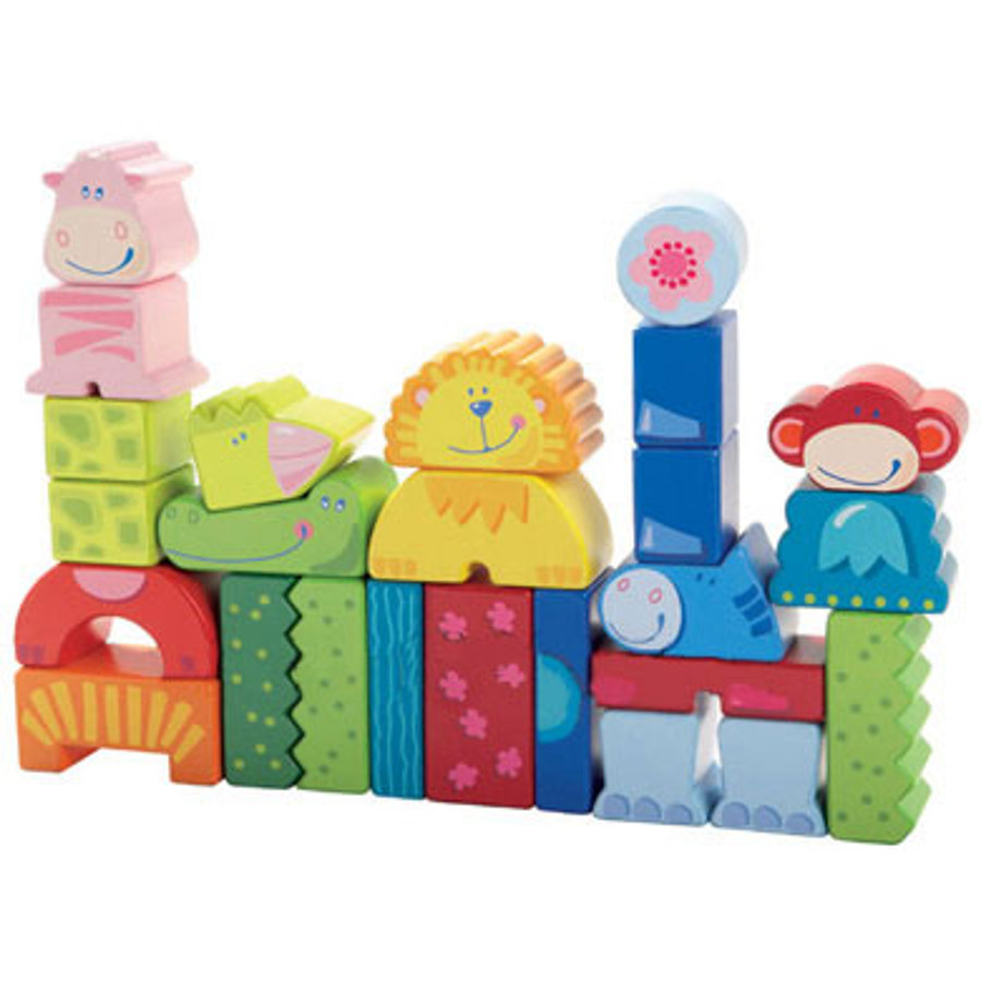 HABA Eeny, Meeny, Miny, Zoo Building Blocks